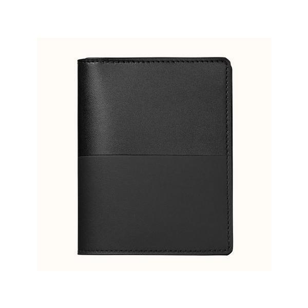 エルメス財布メンズ二つ折り財布 正規品新品マンハッタンコンパクトHERMES正規ラッピング