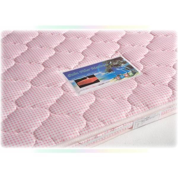 天然ココナッツパームマット 4色対応 3つ折り 三つ折り 一体式 ヤシ ベッド ベット 2段 二段 ロフト システム 三段 3段 子供用|danketuhl|07