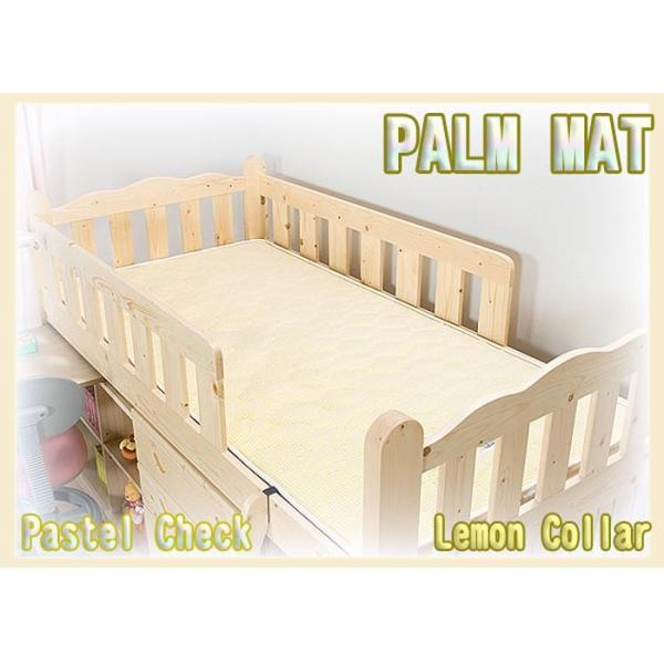 天然ココナッツパームマット 4色対応 3つ折り 三つ折り 一体式 ヤシ ベッド ベット 2段 二段 ロフト システム 三段 3段 子供用|danketuhl|08