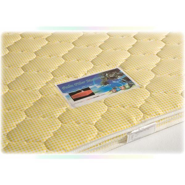 天然ココナッツパームマット 4色対応 3つ折り 三つ折り 一体式 ヤシ ベッド ベット 2段 二段 ロフト システム 三段 3段 子供用|danketuhl|09