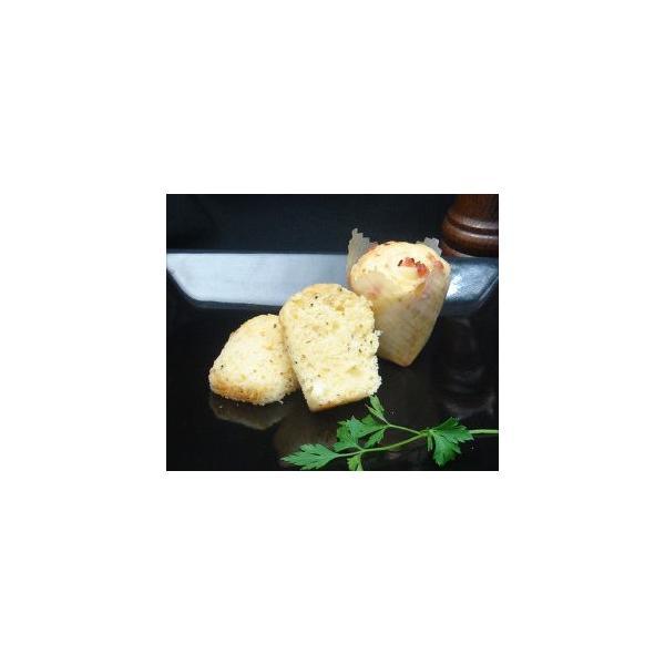 モモばあちゃんの手づくりカップケーキ《ベーコンチーズ》 1箱12個入