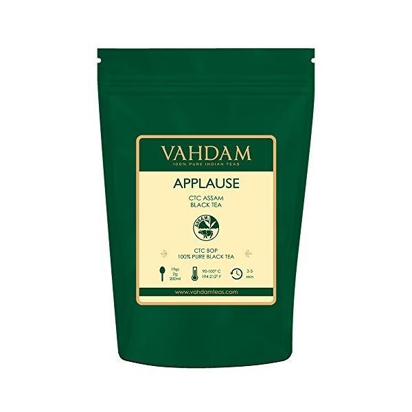 アッサムティー APPLAUSE CTC 紅茶 Vahdam teas ワダム 340g|dansyakudou|04
