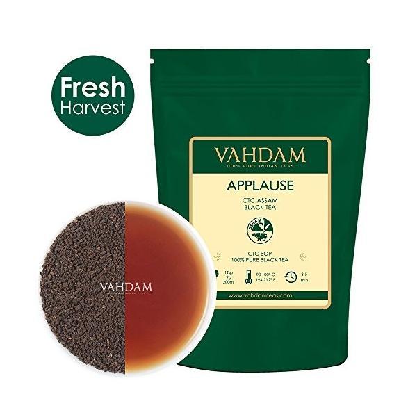 アッサムティー APPLAUSE CTC 紅茶 Vahdam teas ワダム 340g|dansyakudou|09
