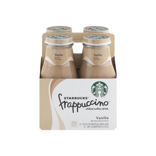 【4本セット】Starbucks frappuccino Vanilla 281mlx4 frappuccino Vanilla 281mlx4本|dansyakudou