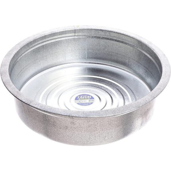 たらい 60cm 日本製 トタン製 頑丈 大容量 おしゃれ ブリキ 万能容器 亜鉛鉄板 職人 マルチ 桶 家庭用 バケツ 本格的 アウトドア