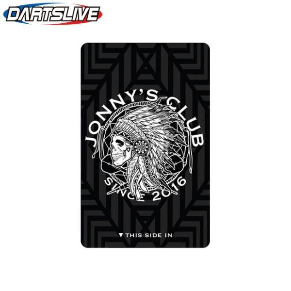 JONNYS CLUB(ジョニーズクラブ) DARTSLIVE CARD 2018 ブラック/ホワイト (ダーツカード)