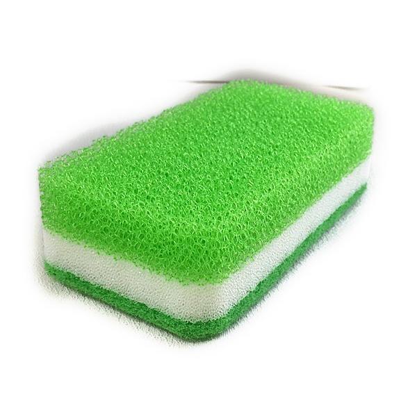 ダスキン スポンジ 台所用スポンジ3色セット抗菌タイプS オマケ付き*定型外郵便(他に2パックのセットもございます。) dasuwan 03