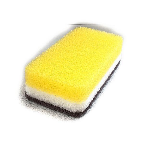 ダスキン スポンジ 台所用スポンジ3色セット抗菌タイプS オマケ付き*定型外郵便(他に2パックのセットもございます。) dasuwan 04