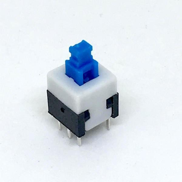 小型押しボタン・スイッチ (プッシュロック・スイッチ) dasyn