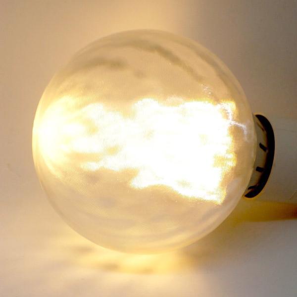 LED電球 直径 9 cm フィボナッチ模様つきボールランプ (4 W 400 ルーメン 電球色 口金 E26 LED 3D デザイン電球,白熱灯 30 W 相当,インテリア照明用)|dasyn
