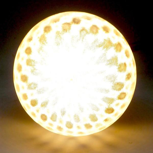 LED電球 直径 9 cm フィボナッチ模様つきボールランプ (4 W 400 ルーメン 電球色 口金 E26 LED 3D デザイン電球,白熱灯 30 W 相当,インテリア照明用)|dasyn|03