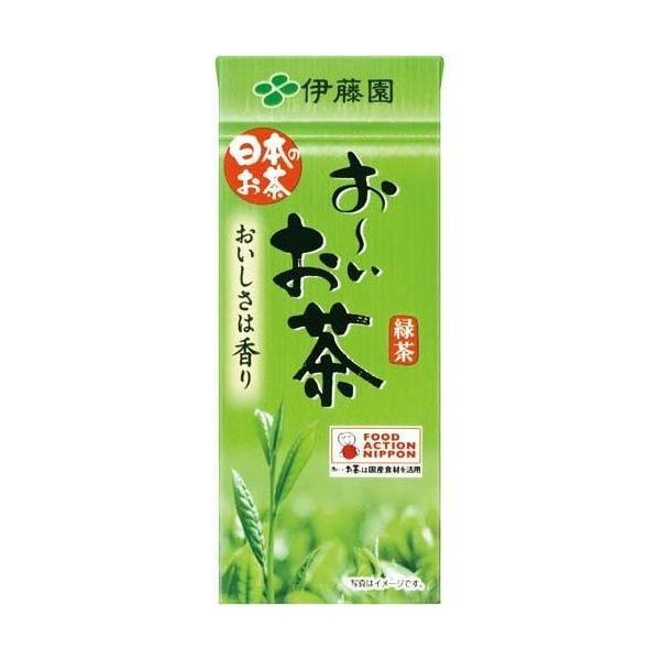 おーいお茶 テトラパック 250ml/24本 date-yakkyoku