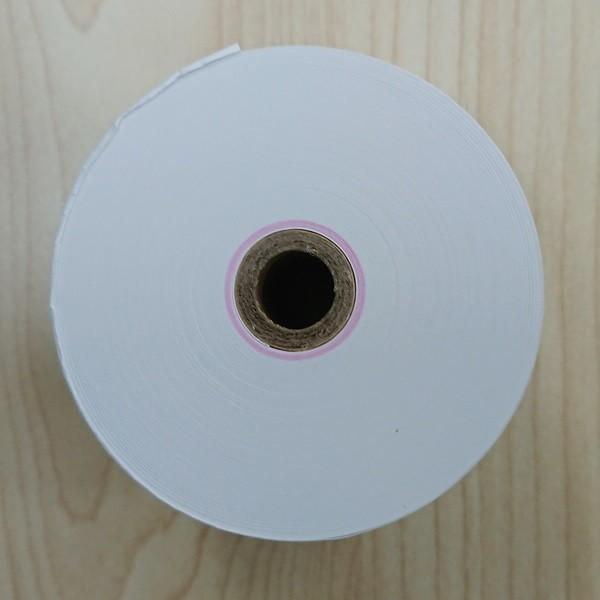 RH587312 感熱紙レジロール 高保存タイプ 紙幅58mm×外径73mm(内径12mm) 60巻セット date-yakkyoku