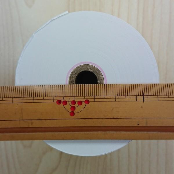 RH587312 感熱紙レジロール 高保存タイプ 紙幅58mm×外径73mm(内径12mm) 60巻セット date-yakkyoku 02