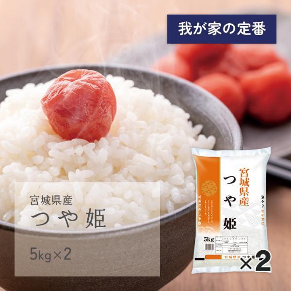 つや姫 10kg(5kg×2袋) 宮城県産 令和2年産