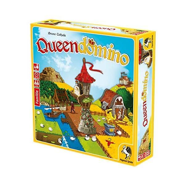クイーンドミノ Queendomino ドミノが入るタワー付き ボードゲーム (並行輸入品)|days-of-magic