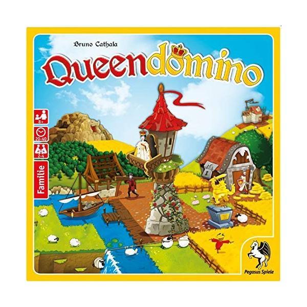 クイーンドミノ Queendomino ドミノが入るタワー付き ボードゲーム (並行輸入品)|days-of-magic|02