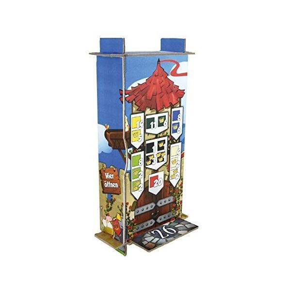 クイーンドミノ Queendomino ドミノが入るタワー付き ボードゲーム (並行輸入品)|days-of-magic|05
