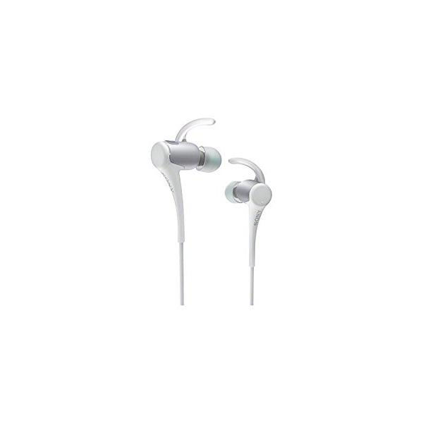 SONY カナル型ワイヤレスイヤホン スポーツ向け 防滴仕様 Bluetooth対応 ホワイト MDR-AS800BT/W|days-of-magic