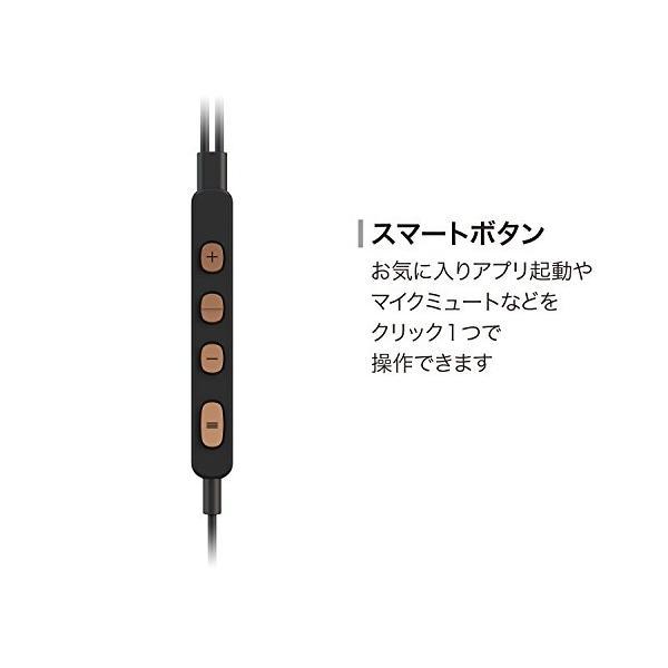 パイオニア RAYZ Plus Lightning-Powered ノイズキャンセリングイヤホン ブロンズ SE-LTC5R-T|days-of-magic|05