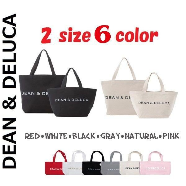 DEAN&DELUCA★ トートバック ディーン&デルーカ エコバッグ  L SIZE dean&deluca レディース