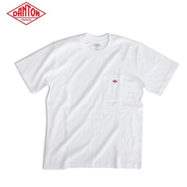 DANTON ダントン メンズ クルーネック 半袖 ポケットTシャツ POCKT T-SHIRT JD-9041 daytripper