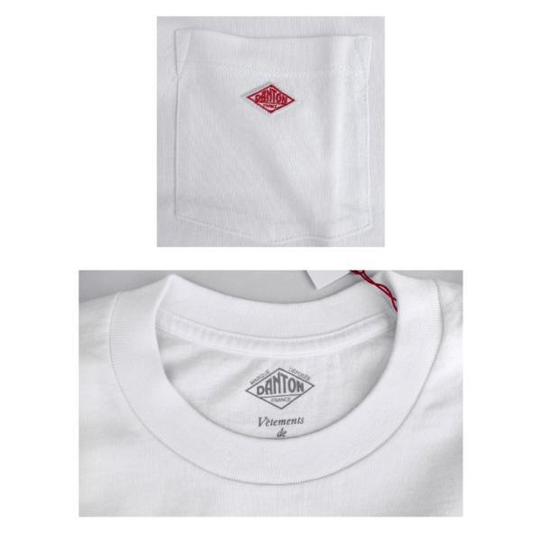 DANTON ダントン メンズ クルーネック 半袖 ポケットTシャツ POCKT T-SHIRT JD-9041 daytripper 03