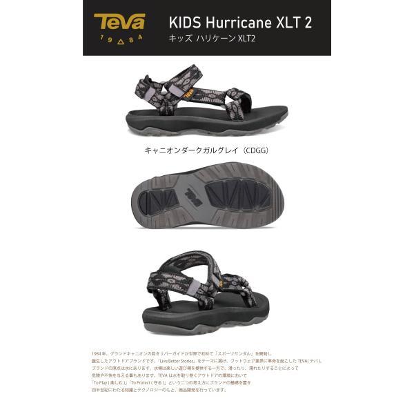 TEVA テバ キッズ ハリケーンXLT2 Hurricane XLT 2 KIDS 1019390C-BNBKアウトドアサンダル スポーツ ビーチサンダル|daytripper|02