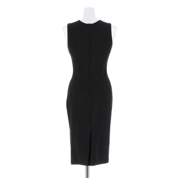 キャバ ドレス キャバドレス ワンピース ビジュー カットアウト ノースリ タイト ミニドレス 大きいサイズ S M L シンプル 黒 白 Vカッ dazzy 06