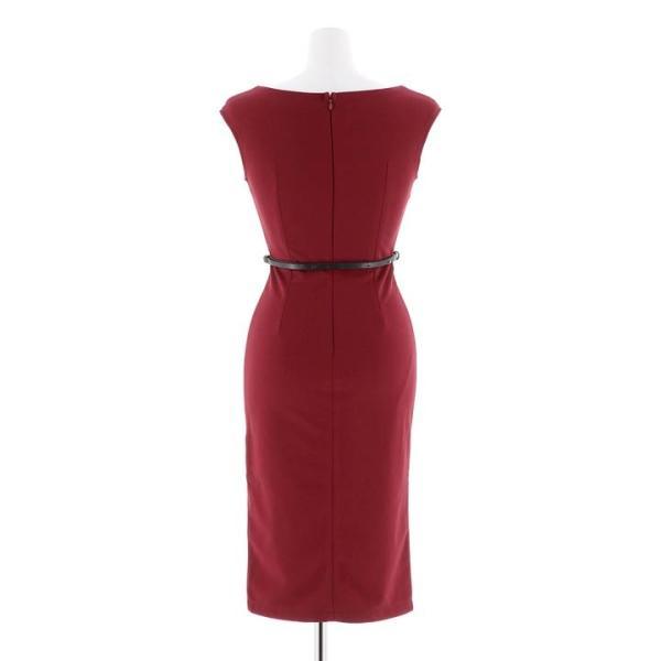 ドレス キャバ ラップ 風 バイカラー 膝丈 タイト ドレス  ドレス ワンピース 膝丈ドレス セクシー ナイトドレス キャバ ドレス キャバ ワ|dazzy|16