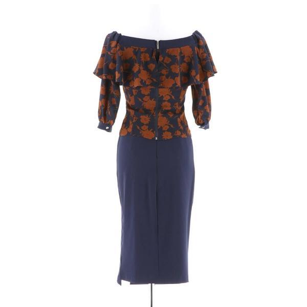 キャバ ドレス キャバドレス ワンピース ナイトドレス 大きいサイズ S M L 藤井リナ 2ピース フラワーオフショルタイト ミニドレス 赤 dazzy 08