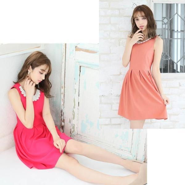 ドレス ワンピース キャバ キャバドレス パーティードレス 大きいサイズ XS S M L LL 3L 4L サイズ Aライン ミニドレス 超ミニ|dazzy|20