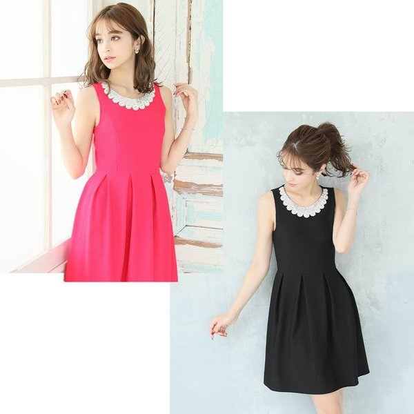 ドレス ワンピース キャバ キャバドレス パーティードレス 大きいサイズ XS S M L LL 3L 4L サイズ Aライン ミニドレス 超ミニ|dazzy|06
