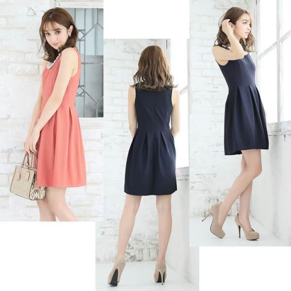 ドレス ワンピース キャバ キャバドレス パーティードレス 大きいサイズ XS S M L LL 3L 4L サイズ Aライン ミニドレス 超ミニ|dazzy|07