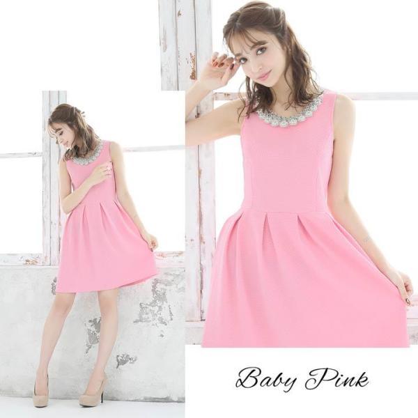 ドレス ワンピース キャバ キャバドレス パーティードレス 大きいサイズ XS S M L LL 3L 4L サイズ Aライン ミニドレス 超ミニ|dazzy|05