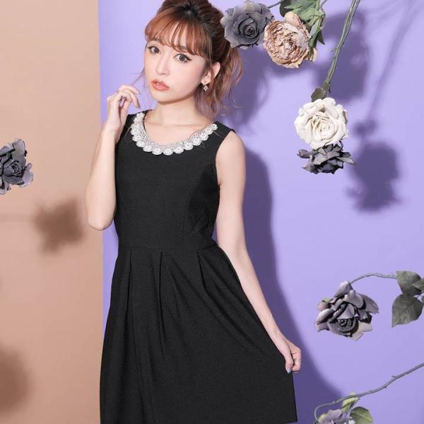 ドレス ワンピース キャバ キャバドレス パーティードレス 大きいサイズ XS S M L LL 3L 4L サイズ Aライン ミニドレス 超ミニ|dazzy|19