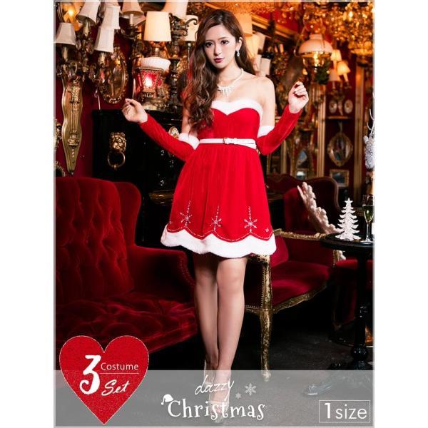 サンタ コスプレ クリスマスサンタドレス クリスマス|dazzy
