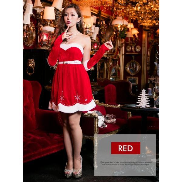 サンタ コスプレ クリスマスサンタドレス クリスマス|dazzy|02