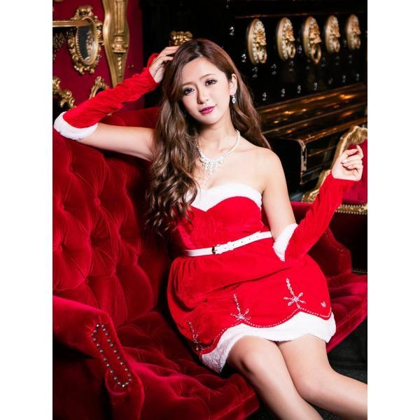 サンタ コスプレ クリスマスサンタドレス クリスマス|dazzy|04