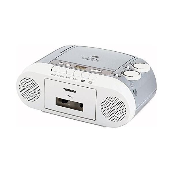 東芝 CDラジオカセットレコーダー/TY-CK2(H)