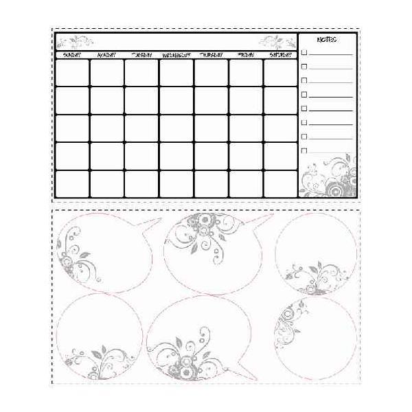 ルームメイツ カレンダー(マーカー付)/RMK1556SCS|dcmonline|02