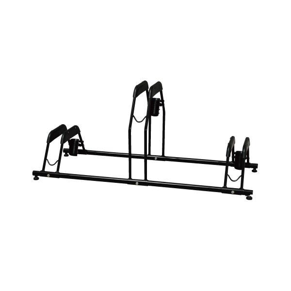 アイリスオーヤマ 自転車スタンド/BYS-3 ブラック W1071×D430×H475mm dcmonline