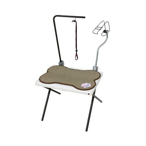 Cupet グルーミングテーブル/PGT-40W ホワイト/550×660×1000mm|dcmonline