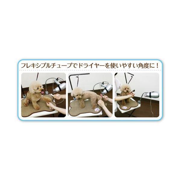 Cupet グルーミングテーブル/PGT-40W ホワイト/550×660×1000mm|dcmonline|02
