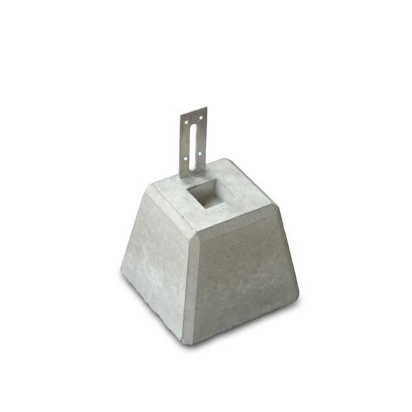 NXstyle(ネクスタイル) 束石 自在プレート付 150J×1個 150J × 1個