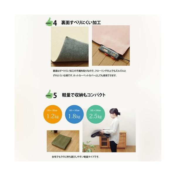 イケヒコ・コーポレーション イーズ HCC/3963409 BE/約130×185cm