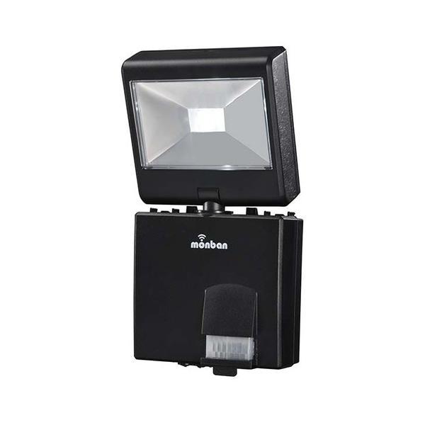 monban LEDセンサーライト 乾電池式 1灯/LS-B114D-K
