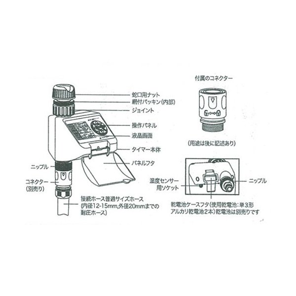 セフティ?3 散水タイマー/SST-3 スタンダード dcmonline 04