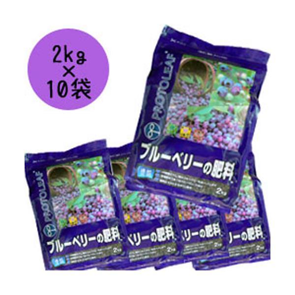 プロトリーフ 【まとめ買い】肥料「ブルーベリーの肥料」/2kg×10袋 2kg×10袋