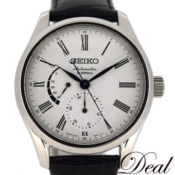 美品 SEIKO セイコー プレサージュ SARW011 琺瑯ダイヤル メカニカル 自動巻 メンズ 腕時計